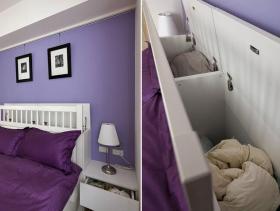 浪漫色调简约风格卧室装修效果图片