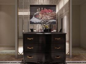 新古典主义收纳展示柜设计