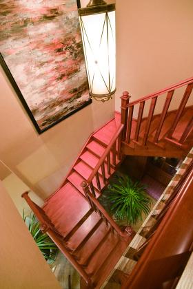 古雅中式风格楼梯设计