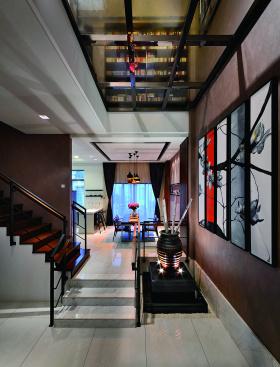 2016中式素雅楼梯设计欣赏