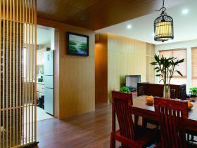 2016中式雅致餐厅装修案例欣赏