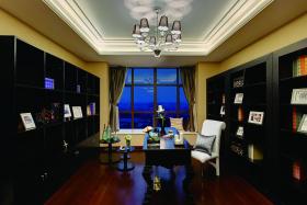 大气新古典装修书房设计