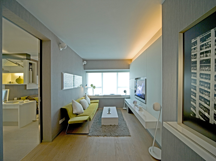 2016现代极简客厅设计规划