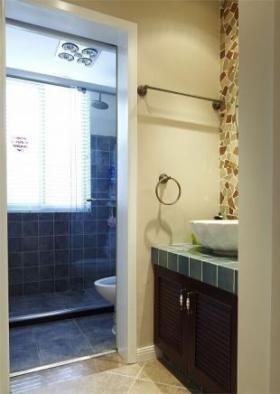 新古典绿色卫生间装修