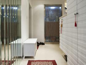 现代白色鞋柜设计布置设计