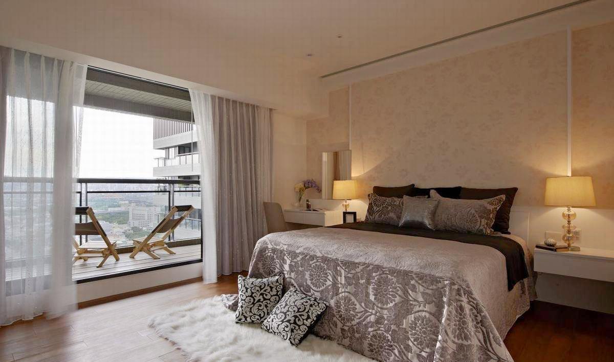 8 结合书桌与卧榻的整体设计,是考量可作为客房的双重需求.图片