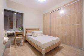 日式原木简约卧室设计