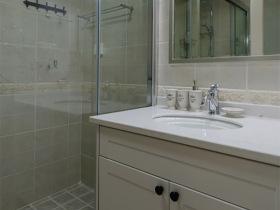 现代简洁浴室柜展示