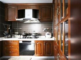 2016中式雅致厨房设计效果图