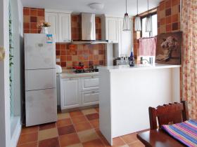 2016田园风格厨房装潢设计