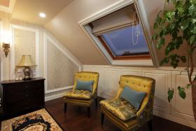 混搭风格舒适房屋一角布置展示