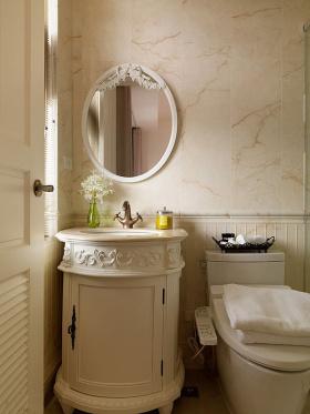 2016美式风格浴室柜设计图展示