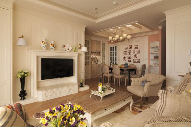 依照生活需求与风格属性,拉整出妥适的空间格局与尺寸比例。