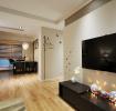 现代风格简洁电视背景墙欣赏