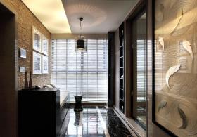 现代质感室内休闲区装修设计