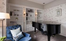 新古典风格钢琴室优雅设计