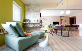 创意时尚简约设计休息区装修布置