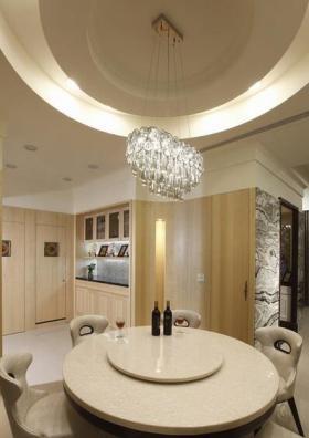 新古典风格简约雅致餐厅设计欣赏