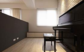2016优雅个性现代风格钢琴室设计案例