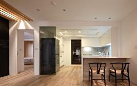 中式元素现代风格吧台装修