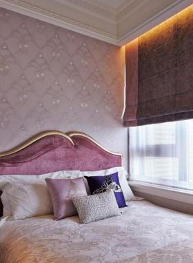 梦幻简欧风卧室布置设计