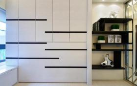 明亮时尚现代风格收纳柜创意设计展示