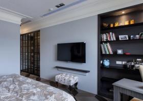 新古典主义三居室背景墙创意装饰布置