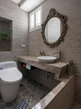 新古典风格精致设计卫生间装潢