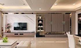 新古典风格装潢背景墙装饰欣赏