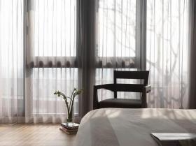 2016雅致安适现代风格窗帘布置效果图