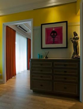 复古简约美式风格收纳柜设计展示