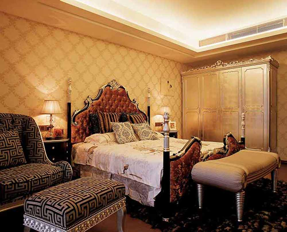 大气奢华欧式卧室装修实例欣赏