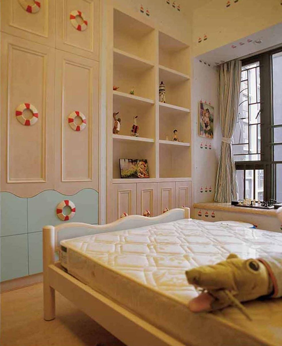 2016简欧式精致儿童房设计图片