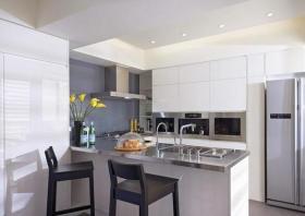明净大方宜家式厨房设计布置