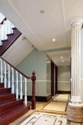 2016新古典主义元素设计楼梯装饰布置