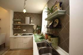 精致大方田园风格厨房规划设计