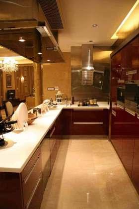 大气新古典风格厨房展示