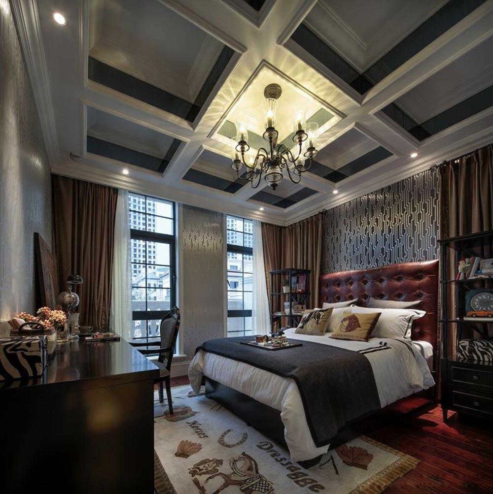 摩登时尚欧式风格卧室设计