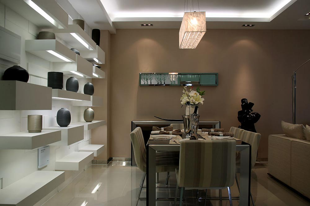 2016摩登现代风格餐厅设计