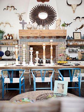 2016时尚创意地中海餐厅装饰效果