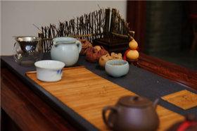 古典韵味中式茶桌摆设欣赏