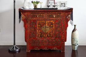 中式混搭风格装饰柜欣赏