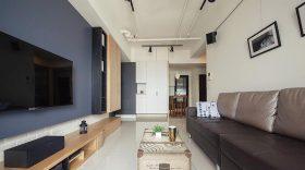 个性工业风美式客厅图片
