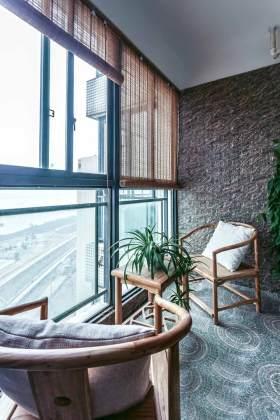中式古色生香阳台装修案例