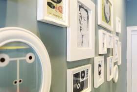 2016简约时尚照片墙设计