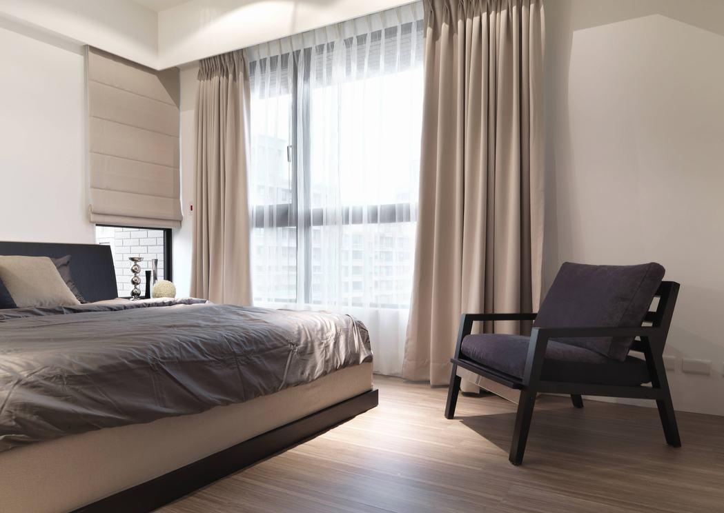 2016现代简洁卧室装修效果图