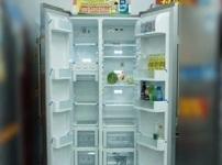 对开门冰箱图片