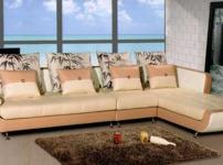 休闲布艺沙发图片