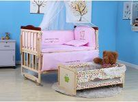 婴儿床图片