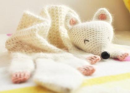 围巾织法与清洗